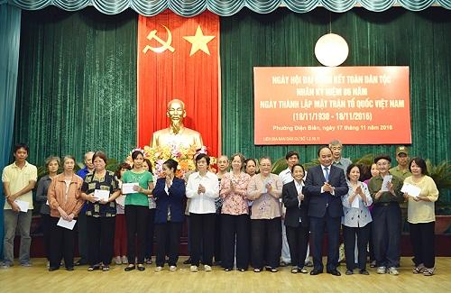 Thủ tướng Nguyễn Xuân Phúc dự ngày hội đại đoàn kết toàn dân - Hình 2