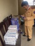 Thanh Hóa: Bắt giữ xe ô tô vận chuyển gần 1.000 bao thuốc lá lậu