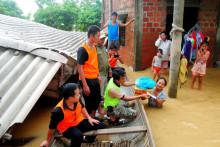 Hỗ trợ 10 tỉnh khắc phục thiệt hại do bão, mưa lũ