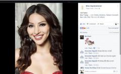 Bình chọn cho Khả Trang tại Hoa hậu Siêu quốc gia 2016