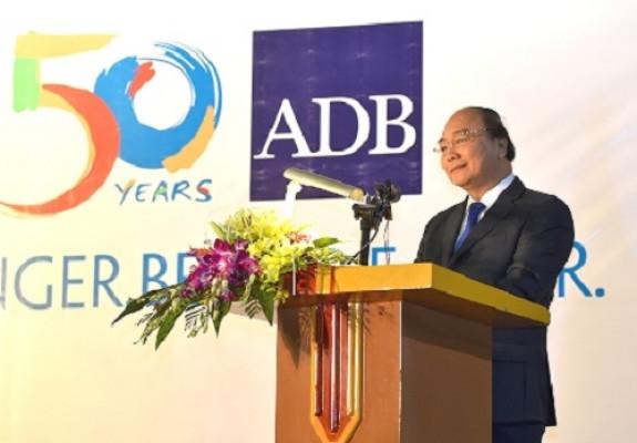 Thủ tướng: Việt Nam coi ADB là đối tác quan trọng hàng đầu