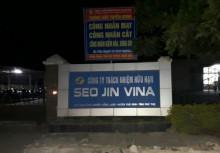 Phú Thọ: Công ty TNHH Seo Jin Vina nguy cơ phá sản, người lao động mất việc làm