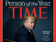 """Tạp chí Time chọn ông Trump là """" nhân vật của năm"""""""