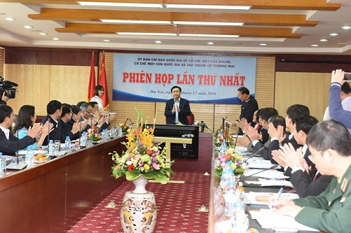 Phó Thủ tướng Vương Đình Huệ chủ trì cuộc họp về cơ chế một cửa ASEAN - Hình 1