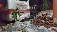 Quảng Trị: Bắt xe chở động vật và lâm sản không rõ nguồn góc
