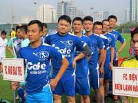 Tưng bừng giải bóng đá Tổng hội Điện tử điện lạnh Việt Nam 2016