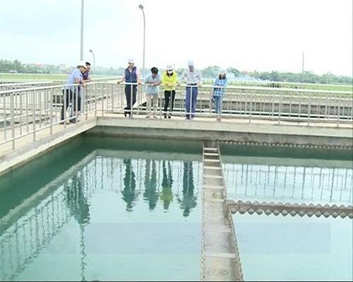 Bàn giao dự án mở rộng hệ thống cấp nước TP Vĩnh Yên - Hình 1