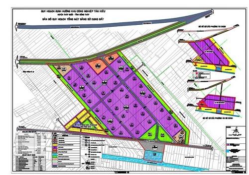 Xây dựng hạ tầng kỹ thuật KCN Tân Kiều (Đồng Tháp) - Hình 1
