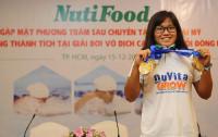 NUTIFOOD thưởng lớn cho thầy trò kình ngư Phương Trâm
