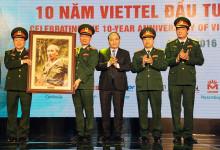 Thủ tướng Nguyễn Xuân Phúc: Dự lễ kỉ niệm 10 năm Tập đoàn viễn thông Quân đội đầu tư ra nước ngoài