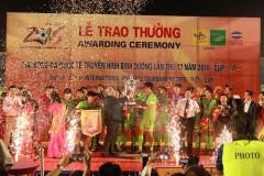 BTV – Number 1 Cup khép lại với chức vô địch thuộc về đội bóng đến từ Nhật Bản