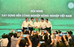 Thủ tướng dự Hội nghị xây dựng nền công nghiệp nông nghiệp Việt Nam