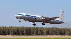 Máy bay quân sự chở 39 người rơi ở Nga