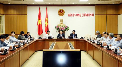Phó Thủ tướng Vương Đình Huệ chủ trì cuộc họp về xử lý các dự án, nhà máy thua lỗ ngành Công Thương - Hình 1