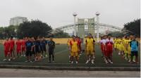 Hà Tây vô địch giải bóng đá Báo chí tỉnh thành tại Hà Nội lần thứ hai