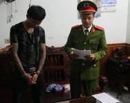 """Bắt trùm chuyên cung cấp ma túy cho """"dân bay"""" thành phố Hà Tĩnh"""