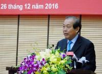 Phó Thủ tướng Thường trực Trương Hòa Bình dự Hội nghị về trật tự an toàn giao thông tại Hà Nội