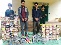 Quảng Bình: Bắt giữ 221 kg pháo lậu từ Lào về Việt Nam