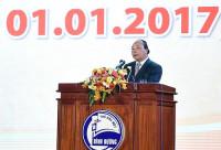 Thủ tướng Nguyễn Xuân Phúc dự lễ kỷ niệm Bình Dương 20 năm phát triển