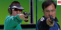 Xạ thủ Hoàng Xuân Vinh đứng đầu danh sách nội dung 10 m súng ngắn hơi