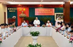 Thủ tướng Nguyễn Xuân Phúc làm việc tại tỉnh Bình Phước