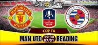 MU - Reading: Rooney được đá chính ngày từ đầu