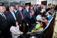 """Phó Thủ tướng Trương Hòa Bình dự lễ phát động Ngày """"Chủ nhật Đỏ"""""""