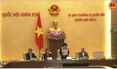 Ngày mai, khai mạc Phiên họp thứ 6 Ủy ban Thường vụ Quốc hội khóa XIV