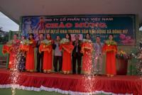 Khánh thành sân vận động cỏ nhân tạo lớn nhất huyện Thanh Trì
