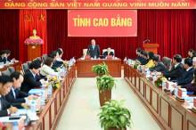 Thủ tướng Nguyễn Xuân Phúc làm việc với lãnh đạo chủ chốt tỉnh Cao Bằng