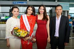 Lệ Hằng chính thức lên đường tham dự Miss Universe 2016