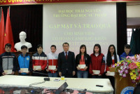 ĐHSP Thái Nguyên: Nỗ lực không để cho sinh viên vì khó khăn mà nghỉ học