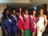 Lệ Hằng là một trong 20 thí sinh trình diễn trong đêm thời trang tại Miss Universe 2016