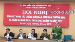 Ngành công an Hà Nội: Chủ động đấu tranh chống buôn lậu
