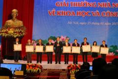 Trao Giải thưởng Hồ Chí Minh, Giải thưởng Nhà nước về KH&CN