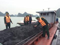 Hải Phòng: Bắt giữ hơn 200 tấn than vận chuyển trái phép