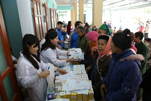 Kết quả hình ảnh cho - Khám bệnh, phát thuốc từ thiện