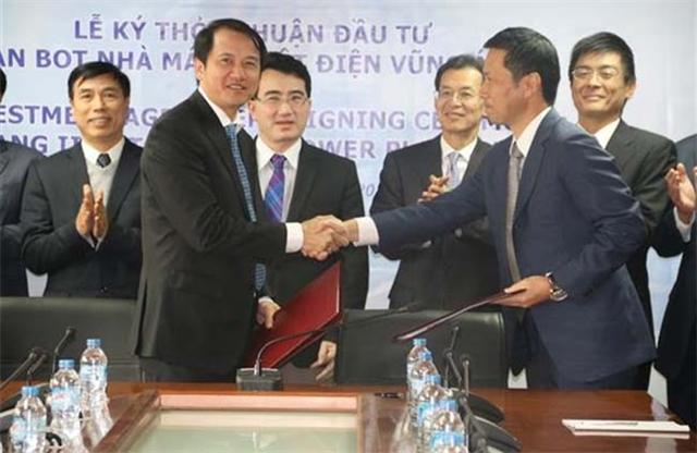 Ký thỏa thuận đầu tư Dự án BOT Nhà máy nhiệt điện Vũng Áng 2 - Hình 1