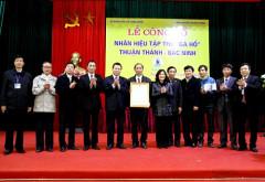 """Công bố Nhãn hiệu tập thể """"Gà Hồ - Thuận Thành - Bắc Ninh"""""""