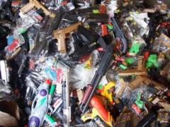 Thanh Hóa: Thu giữ gần 100kg đồ chơi nguy hiểm