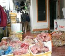 Hà Tĩnh: Bắt giữ hơn 1 tấn thịt, nội tạng động vật không rõ nguồn gốc