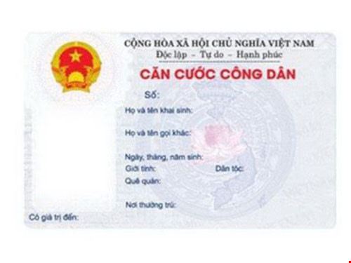 Người làm thẻ căn cước công dân lần đầu không phải nộp phí - Hình 1
