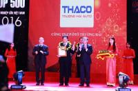 Thaco được vinh danh DN tư nhân số 1 tại Việt Nam 2016