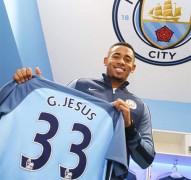 Tân binh Gabriel Jesus gia nhập Man City