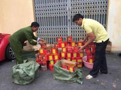 Tây Ninh: Bắt đối tượng vận chuyển 10kg pháo lậu từ Campuchia về Việt Nam
