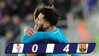 Nghiền nát Eibar, Barca gây áp lực lên Sevilla và Real