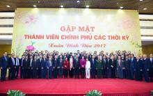 Thủ tướng Nguyễn Xuân Phúc gặp mặt thành viên Chính phủ các thời kỳ