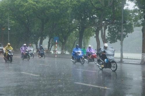Thời tiết cả nước có mưa - Hình 1
