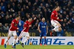 Leicester 0-3 Man Utd: