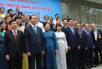 Chủ tịch nước: Kiều bào là bộ phận không thể thiếu, góp phần đưa VN hội nhập thành công